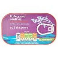 Sainsbury's Sardines in Tomato Sauce, Skinless & Boneless 90g