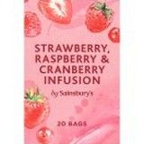 Sainsbury's Strawberry, Raspberry and Cranberry Infusion Tea x 20