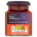 Sainsbury's Tomato and Chilli Chutney Taste the Difference 300g