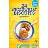 Sainsbury's Wholewheat Biscuits 24