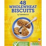 Sainsbury's Wholewheat Biscuits 48