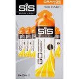 SiS GO Isotonic Orange Gel  6 x 60ml