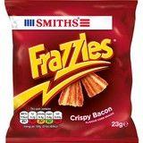 Bulk Buy Smiths Frazzles Crispy Bacon Corn Snack 48 x 23g