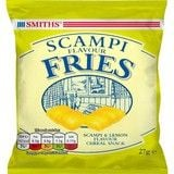 Bulk Buy Smiths Scampi Flavour Fries 24 x 27g