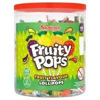 Bulk Buy 120 x Swizzels Matlow Original Fruity Pops Lollies
