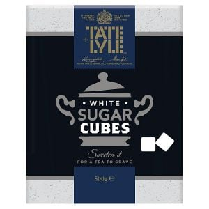 Catering Size Tate & Lyle Fairtrade Cane Sugar White Cubes 10 x 500g Packs