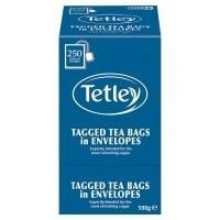 Catering Size Tetley Tea Bags Tag Enveloped 200