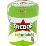Bulk Buy Trebor Softmints Peppermint Mints Bottle 6 x 100g