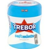 Bulk Buy Trebor Softmints Spearmint Mints Bottle 6 x 100g