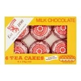 Bulk Buy Box of 12 x 6 Tunnock's Milk Chocolate Tea Cakes