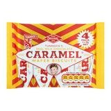 Bulk Buy Box of 20 x 4 Pack 30g Tunnock's Real Milk Chocolate Caramel Wafer Biscuits