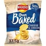 Bulk Buy Walkers Oven Baked Cheese & Onion 32 x 37.5g