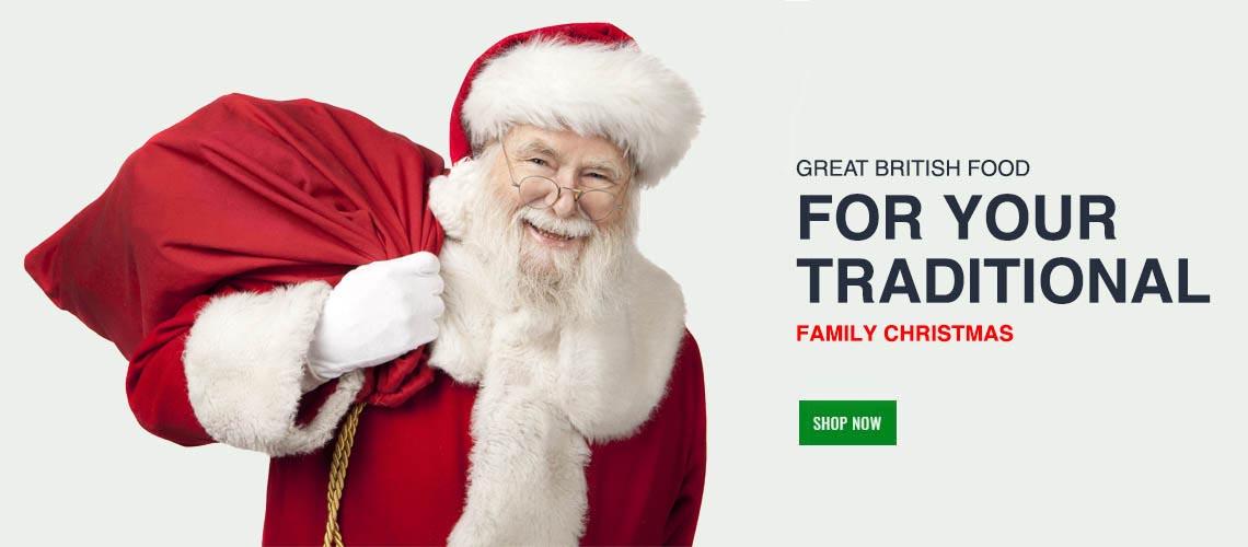 British Online Supermarket - Christmas