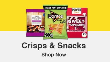 British Online Supermarket -Crisps & Snacks
